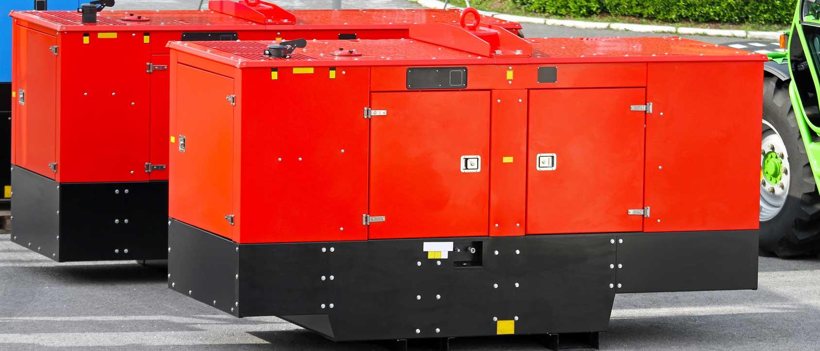 Reparatur von Generatoren und Notstromaggregate